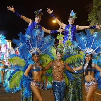 Лиссабон + карнавал на Мадейре